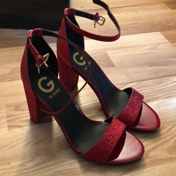 Glitter Block Heels | Poshmark